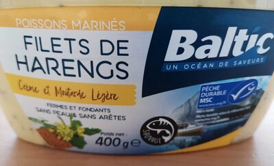 Filets de Hareng Crème et Moutard Légère - Produit - fr