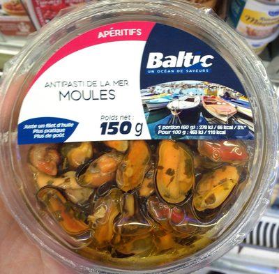 Antipasti de la mer Moules - Produit - fr