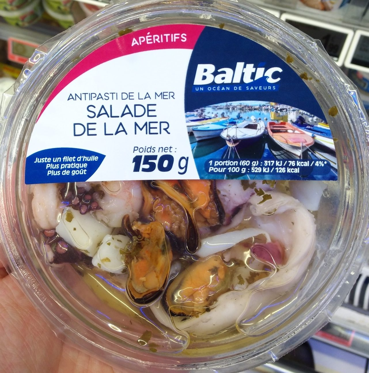 Salade de la mer - Product