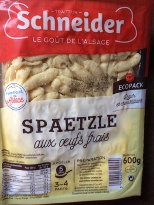 Spaetzle aux Œufs Frais - Product
