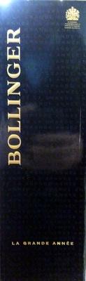 Bollinger La grande Année 2004 - Product