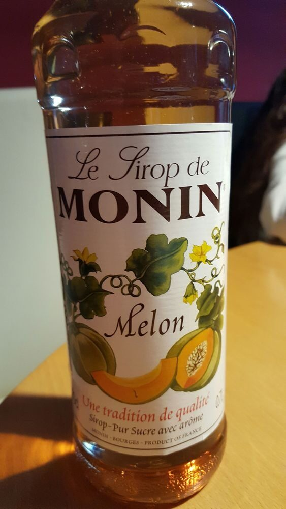 Monin - Melon Syrup 70cl Bottle - Prodotto - fr
