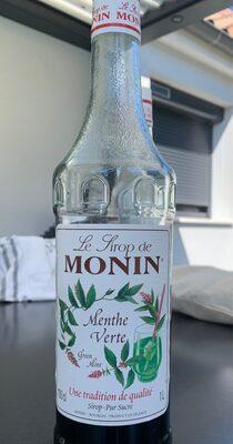 Le Sirop De Monin Menthe Verthe - Informations nutritionnelles - fr