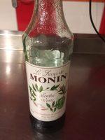 Le Sirop De Monin Menthe Verthe - Nutrition facts