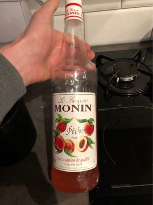 Monin Peach Syrup - Informations nutritionnelles - fr