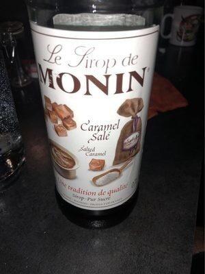 Le Sirop de Monin Caramel Salé  700 ml - Produit - fr