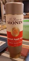 La sauce de Monin Caramel Apple Sauce - Product