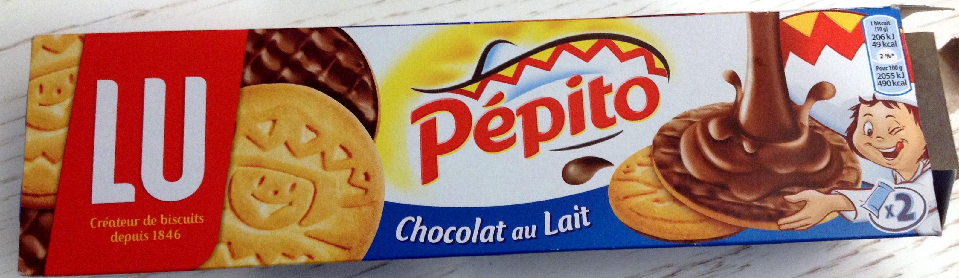 Pépito chocolat au lait - Produit