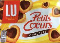 Petits coeurs chocolat - Produit - fr