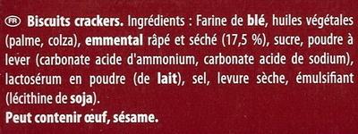 feuilleté - Ingrédients