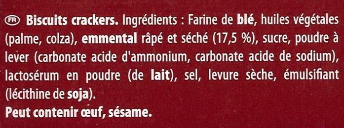 feuilleté - Ingrédients - fr