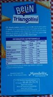 Biscuits crackers Triangolini aux graines de sésame craquantes - Nutrition facts - fr