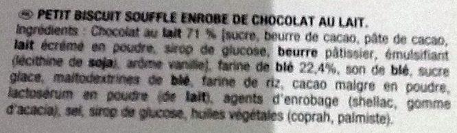 Petits coeurs - Ingredienti - fr