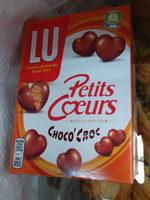 Petits coeurs choco'croc - Produit - fr