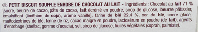 Petits coeurs choco'croc - Ingrédients - fr