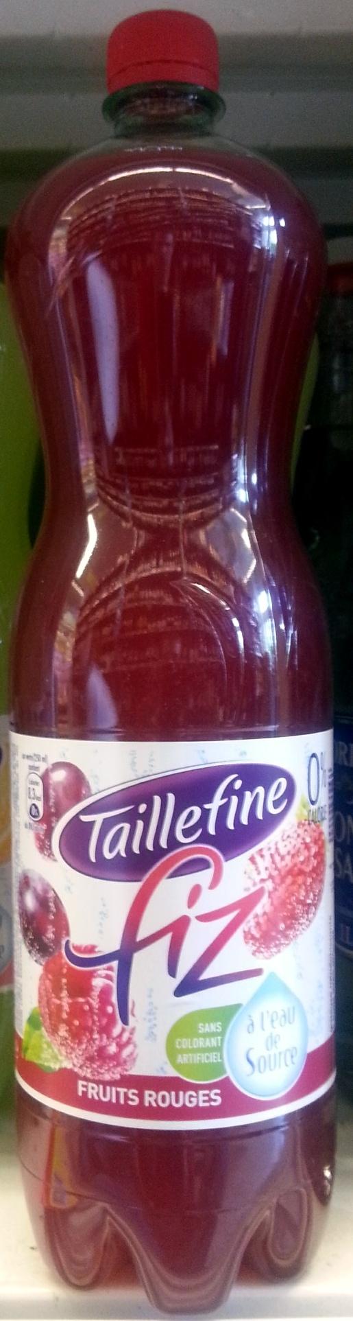 Taillefine Fiz Fruits Rouges - Produit