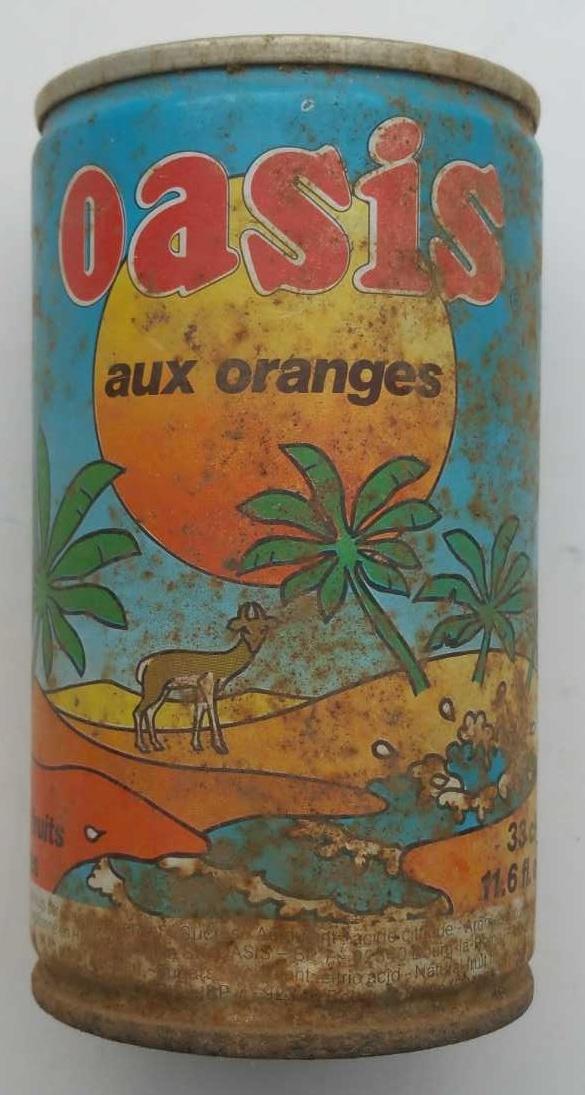 Oasis aux oranges - Produit