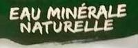 Eau minérale naturelle - Ingredients - fr