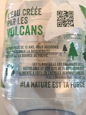naturelle volcanique - Istruzioni per il riciclaggio e/o informazioni sull'imballaggio - fr