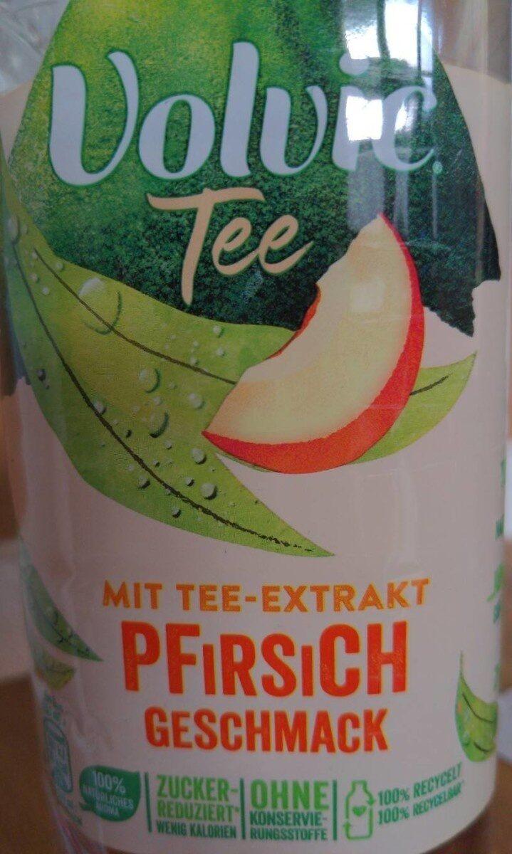 Danone, Volvic Tee, Pfirsich Aromatisiertes Mineralwasser - Prodotto - de