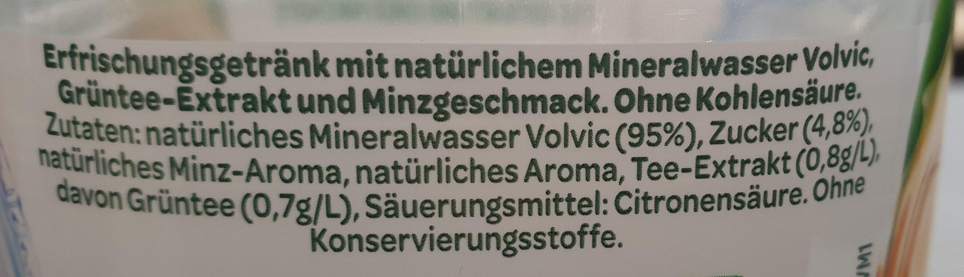 Thé vert menthe - Ingredients - fr