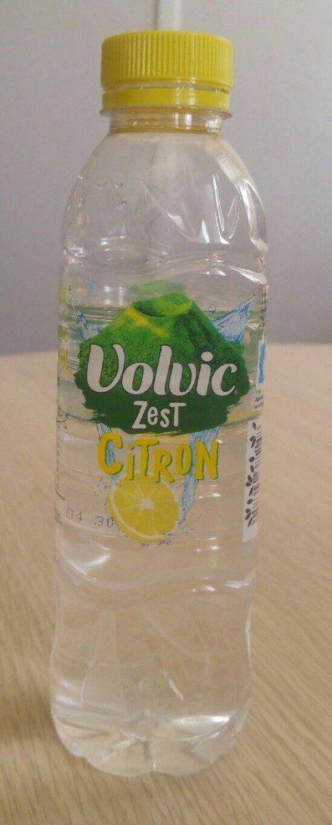 Volvic zest citron - Produit - fr
