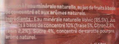 Juicy Fraise - Ingredients - fr