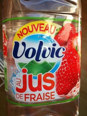 Volvic au jus de fraise - Produit - fr