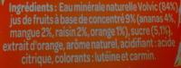 Juicy Fruits Exotiques - Ingrediënten - fr