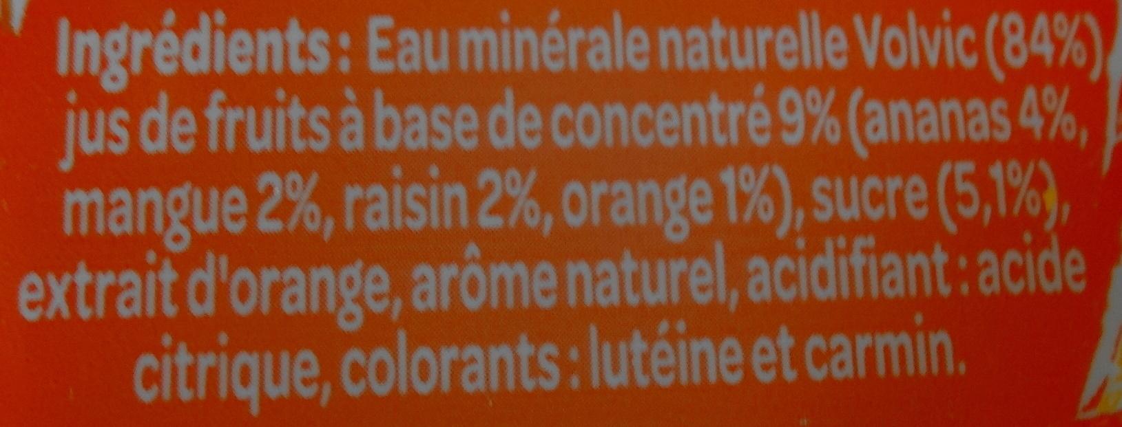 Juicy Fruits Exotiques - Ingrediënten