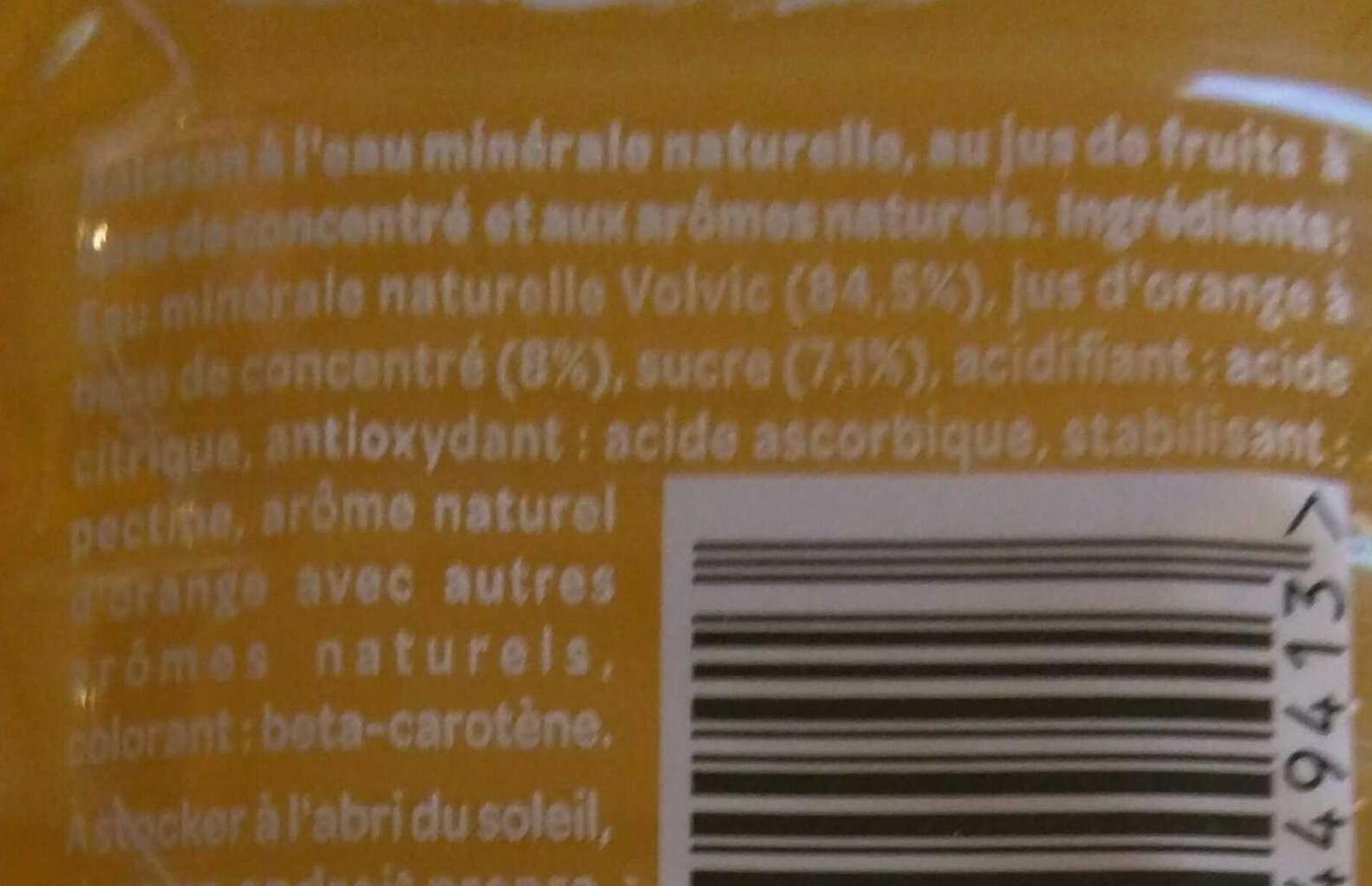 Juicy Orange - Ingrediënten - fr