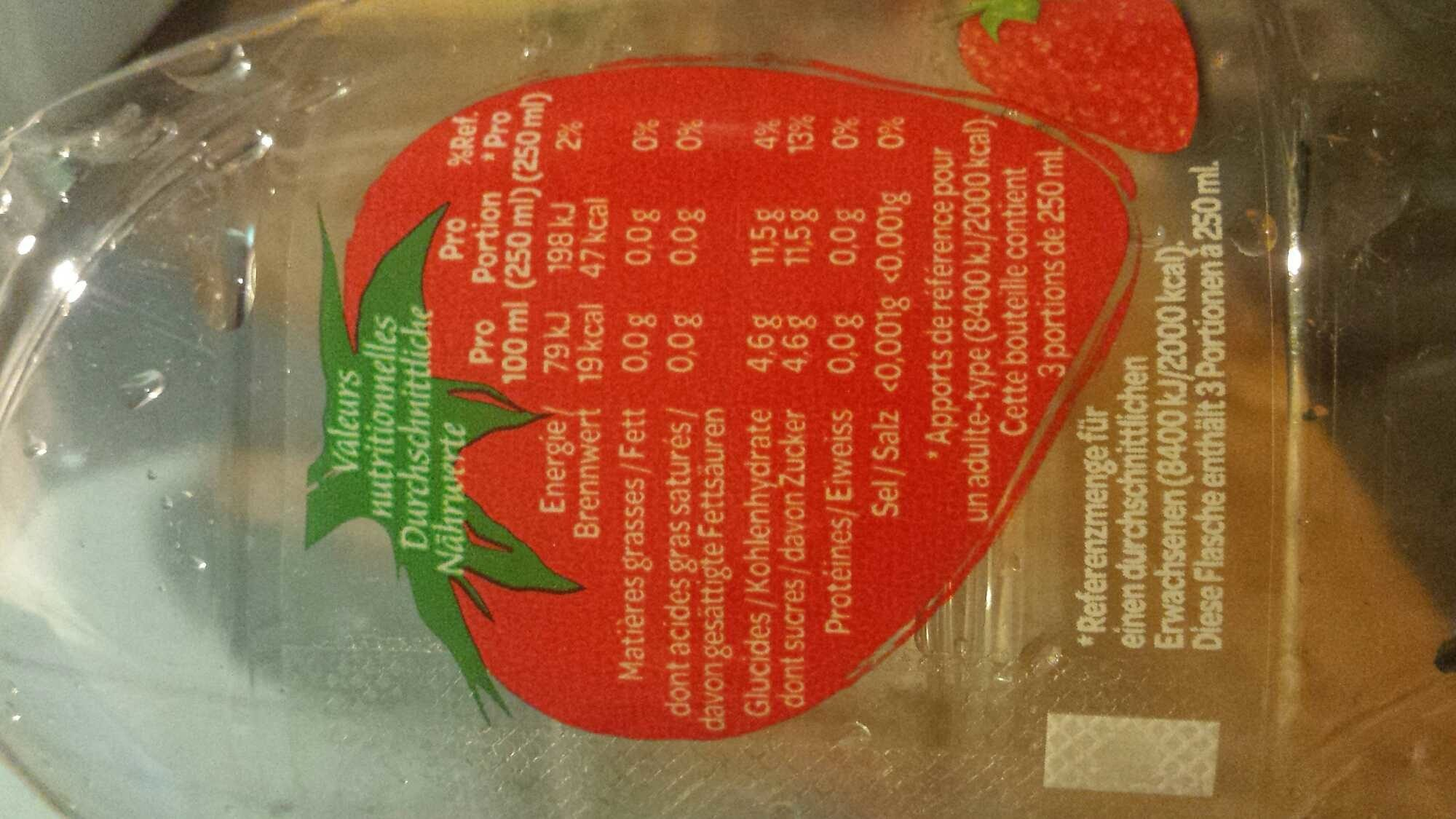 Volvic fraise - Product