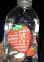 Volvic fraise - Nutrition facts
