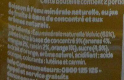 Juicy Fruits Exotiques - Ingrédients - fr