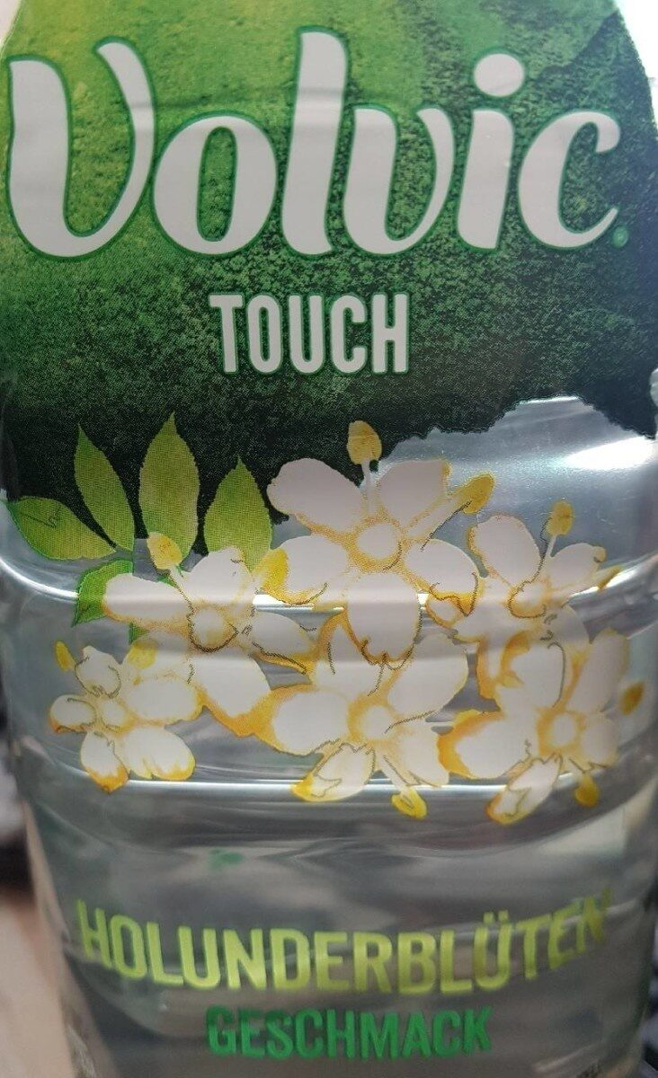 Volvic Touch Refresh Edition Holunderblüte - Product - de