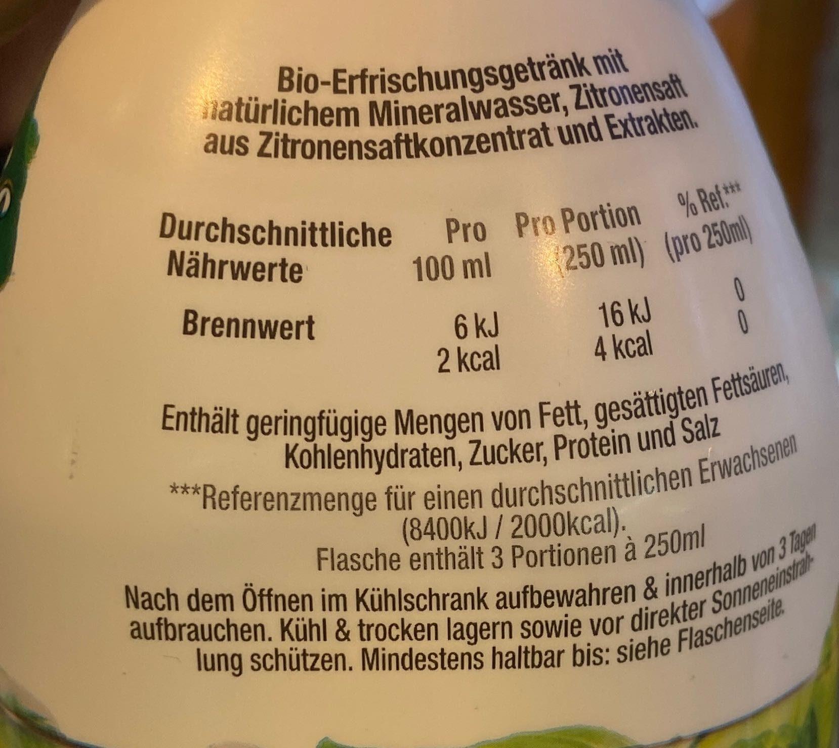 Minze- gurke - Ingredients - de