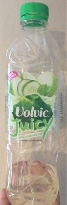 Volvic Juicy Pomme concombre basilic - Produit