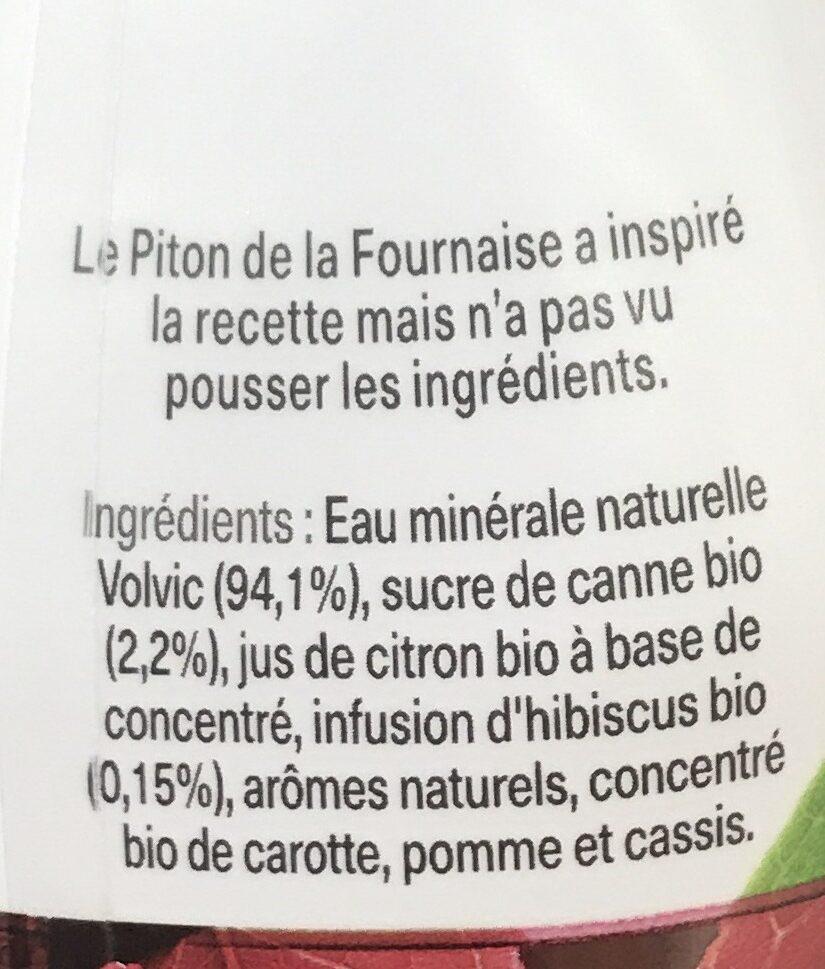 volvic infusion bio - Ingrediënten - fr