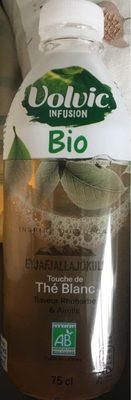Thé blanc saveur rhubarbe - Product - fr