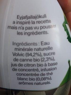 Thé blanc saveur rhubarbe - Ingredients - fr