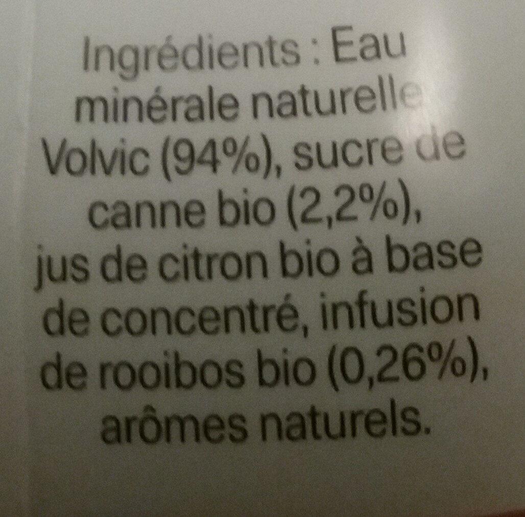 volvic - Ingrediënten - fr