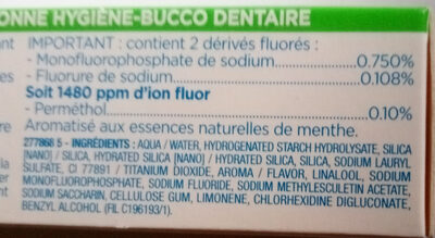 Fluoryl - Ingredients