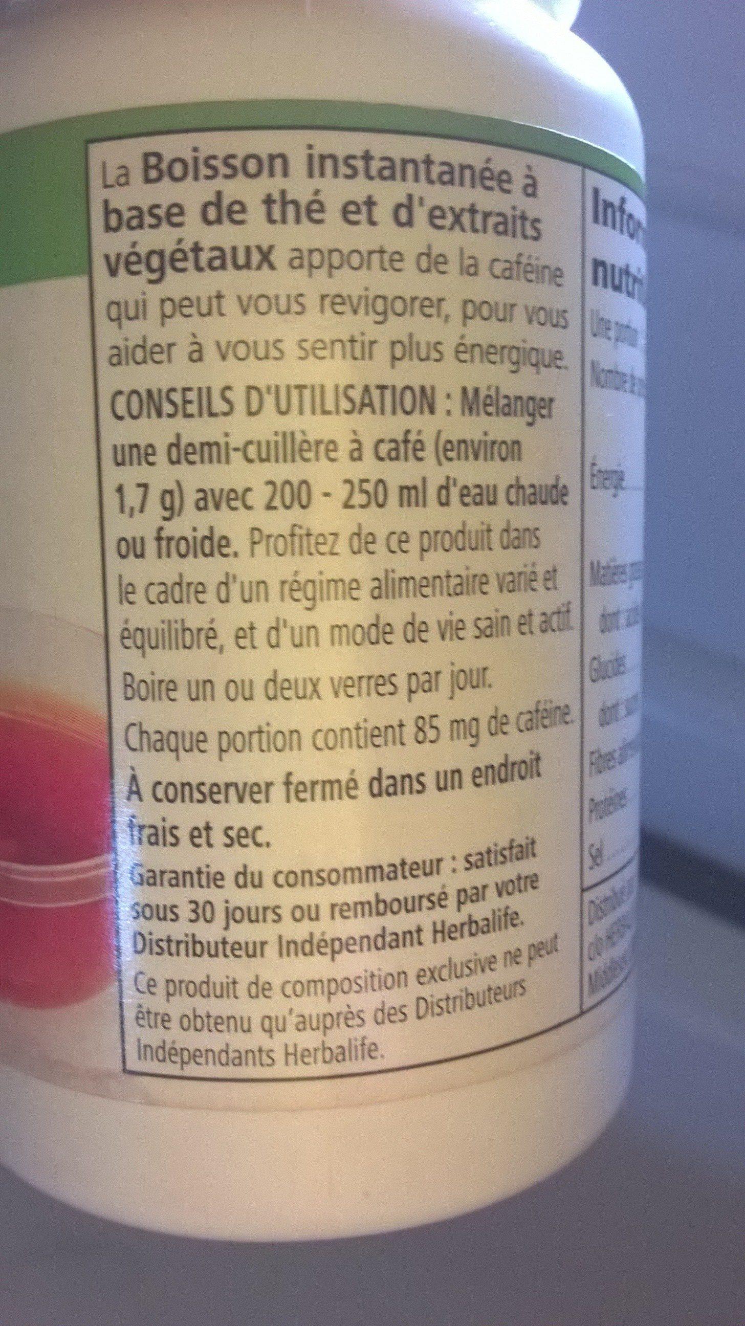 boisson instantanée tea - Producto - fr