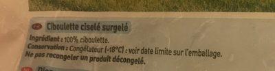 Ciboulette de Bretagne - Ingrédients - fr