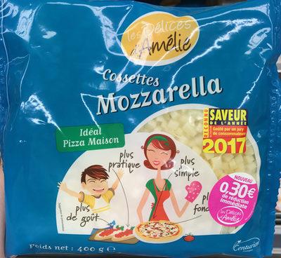 Les Délices d'Amélie Cossettes de mozzarella - Product - fr