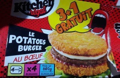 Potetoes burger - Product - fr