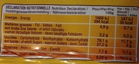 Casse-Croûte original - Informations nutritionnelles