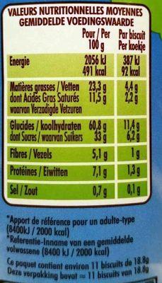 P'tit Déj Extra Céréales - Informations nutritionnelles - fr