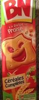 Biscuits fourrés goût fraise - Product - fr