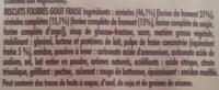 BN Goût Fraise - Ingredients - fr